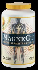 MagneCit Magnesiumsitraatti+B6-vitamiini 100 purutabl