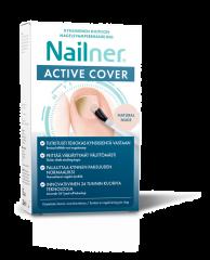 NAILNER ACTIVE COVER NUDE LAKKA JA SIVELLIN 30 ML