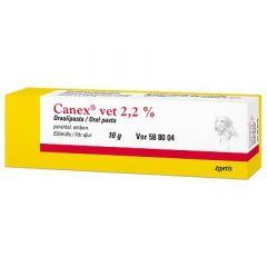 CANEX VET 2,2 % oraalipasta 10 g