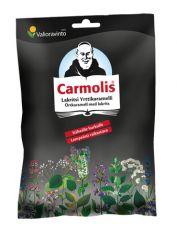 CARMOLIS LAKRITSIKARAMELLI 72 G