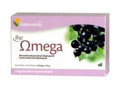 Iho omega 150kaps mustaherukkasiemenöljy