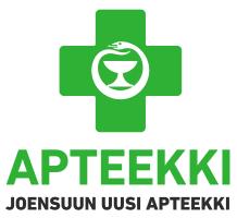 Joensuun uusi apteekki -logo